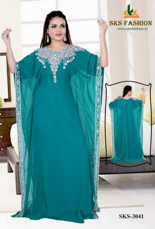 Half Farasha Poncho Dresses Sks 3041 Caftan Online Kaftan